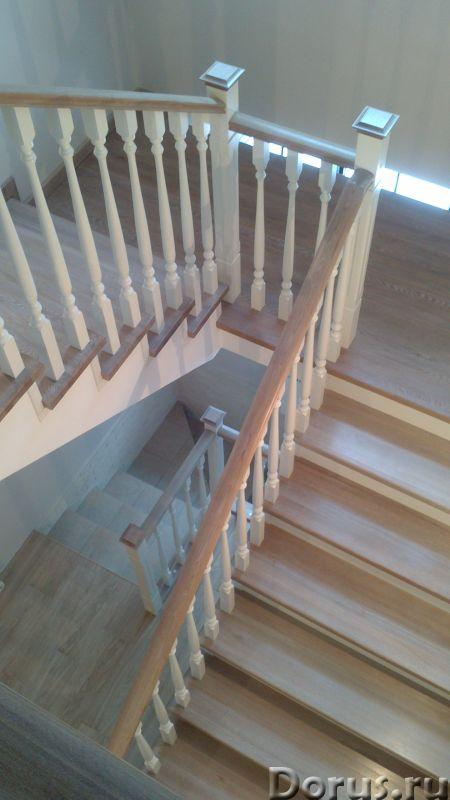 Лестницы и двери из ценных пород дерева - Строительные услуги - Частный столярный цех изготовим и ус..., фото 1