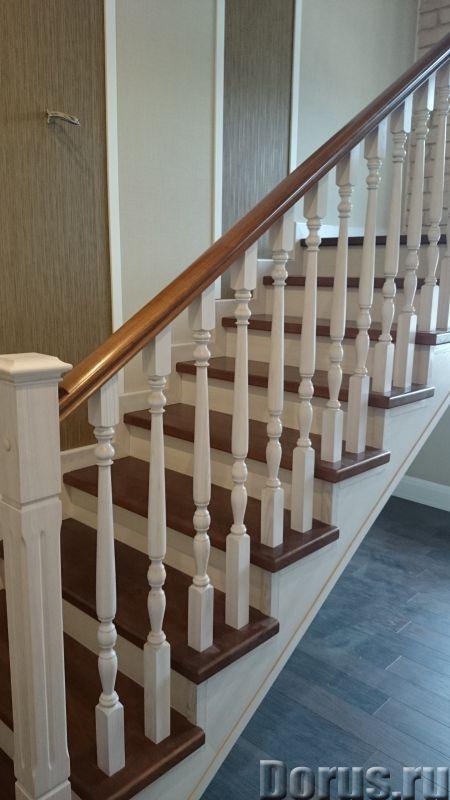 Лестницы и двери из ценных пород дерева - Строительные услуги - Частный столярный цех изготовим и ус..., фото 3