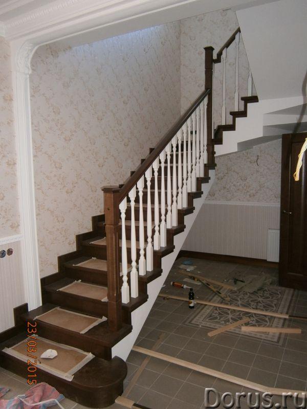 Лестницы и двери из ценных пород дерева - Строительные услуги - Частный столярный цех изготовим и ус..., фото 5